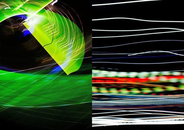 آموزش 4 راه برای عکاسی از رد یا دنباله نور انتزاعی