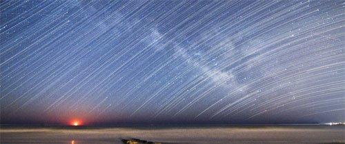 عکاسی آسمان شب