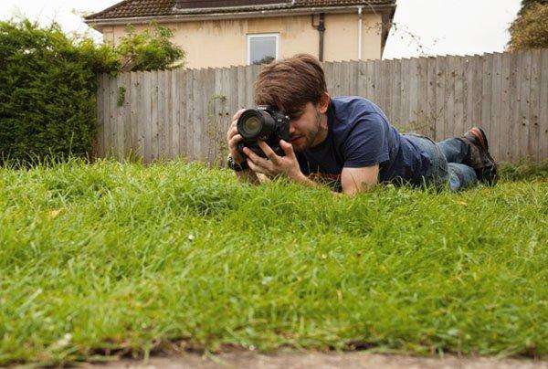 آموزش عکاسی پرتره از یک پرسپکتیو پایین