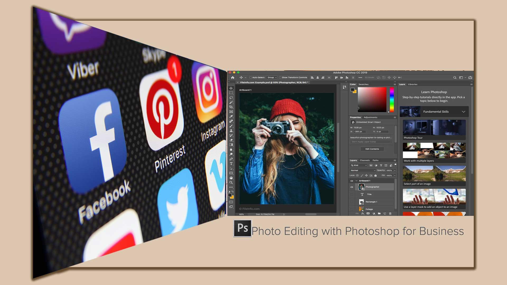 8 تا از مزایای اصلی ویرایش عکس با فتوشاپ برای کسب و کارتان