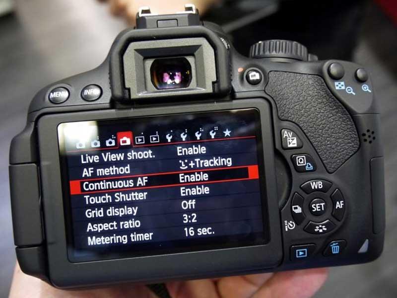 آموزش تنظیم پارامترهای اصلی دوربین