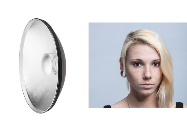 تاثیراصلاح کننده های نوری مختلف روی عکس های پرتره استودیویی