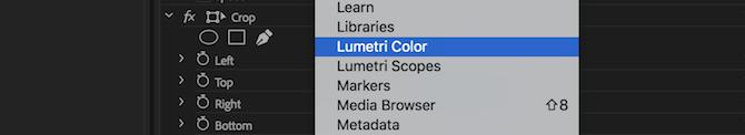 ابزار تطبیق رنگ در پریمیر (Adobe Premiere Pro)