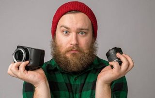 اولین تنظیمات دوربین عکاسی حرفه ای بعد از خرید