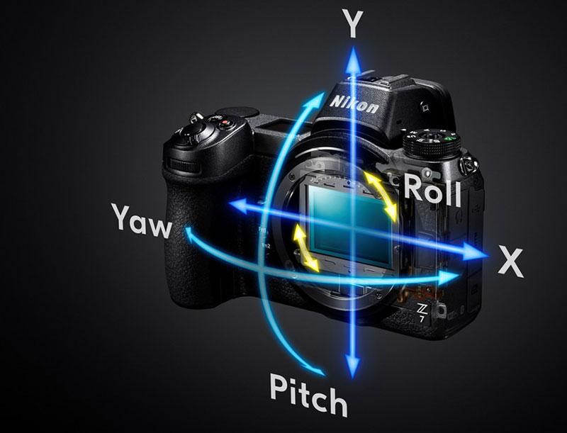 آشنایی با نحوهی کار لرزشگیر داخلی دوربین