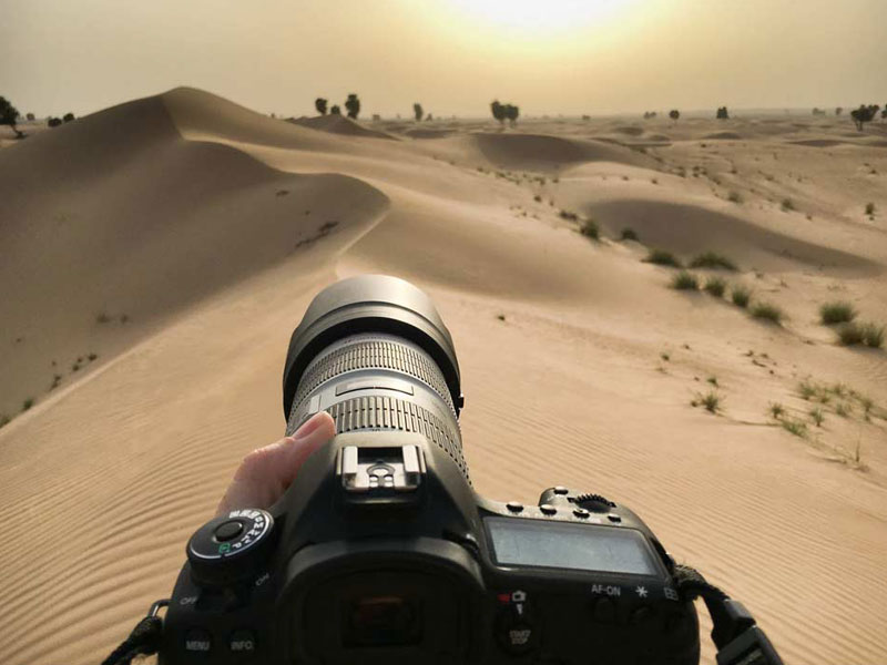آموزش عکاسی از منظره با لنز تله فوتو