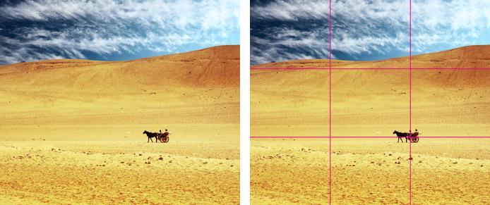 قوانین ترکیب بندی در عکاسی (بخش اول)