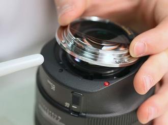 خرابی لنز دوربین عکاسی