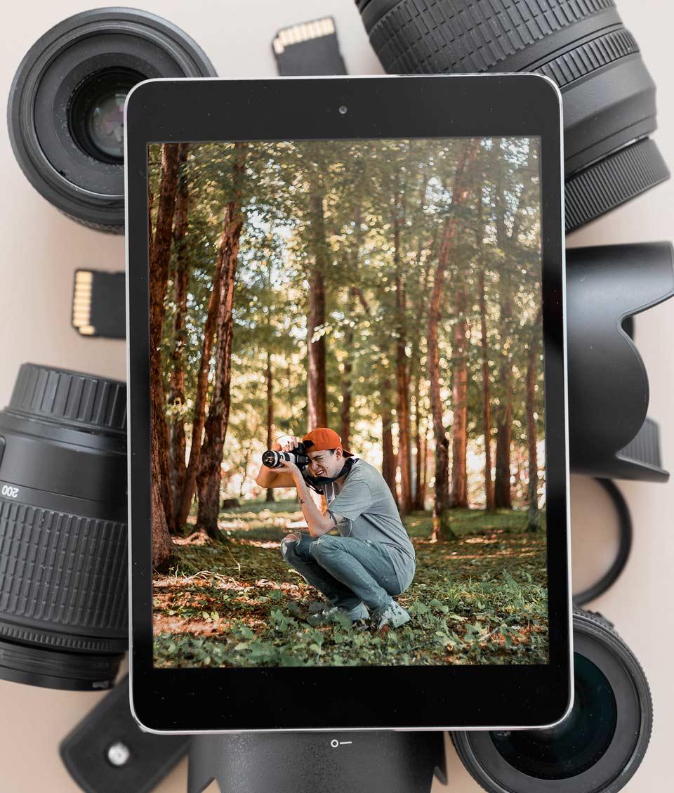 6 فایده و 6 دلیل رفتن به کلاس عکاسی