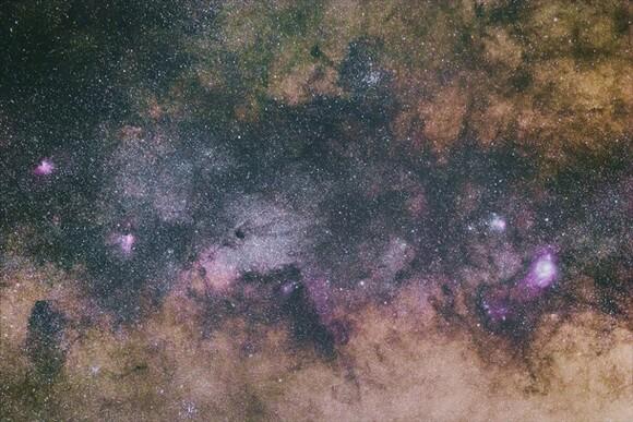 عکاسی نجوم و کهکشان راه شیری
